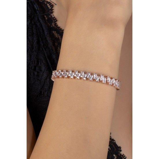 Baget bracelet - original silver plated 925