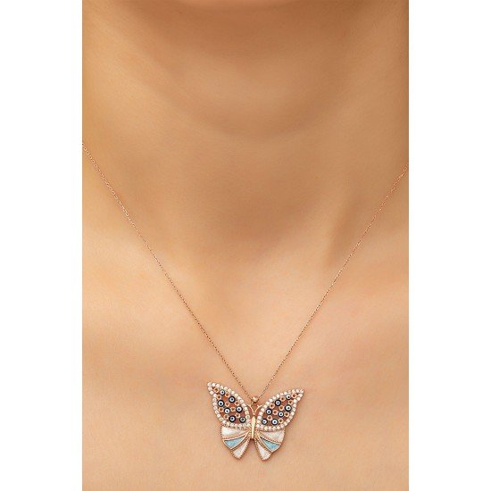 Butterfly necklace - original silver 925
