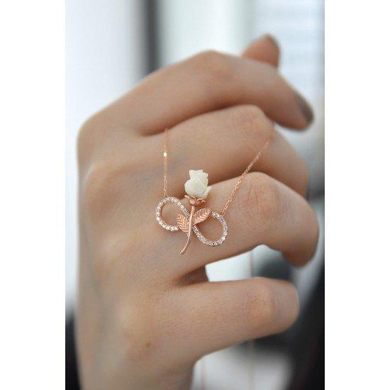 Infinite Love Necklace - Genuine Silver 925