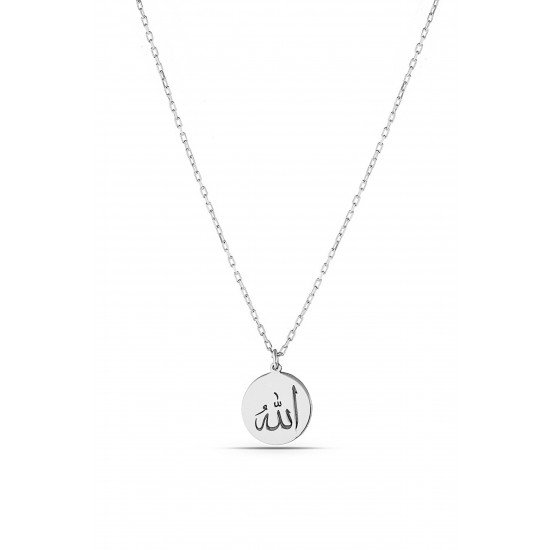 Allah's name necklace- Genuine Silver 925
