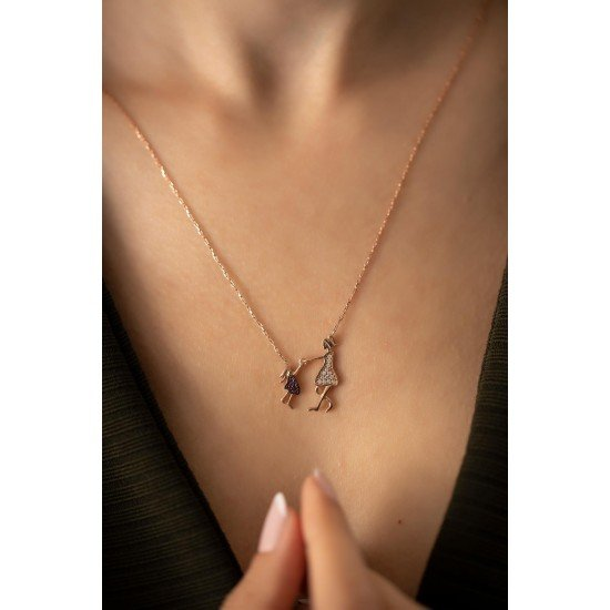 My sweetheart necklace - Genuine silver 925